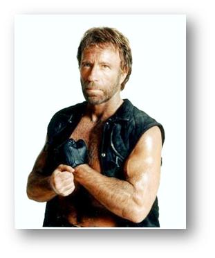 Chuck Norris también es un usuario de Business Intelligence