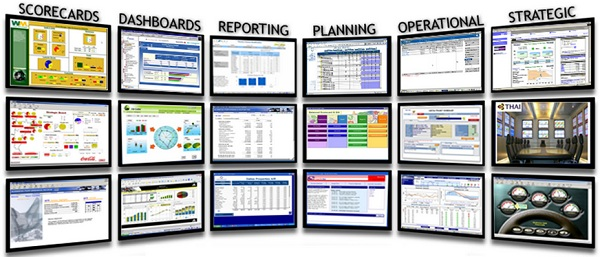 Posibles aplicaciones analíticas que pueden crearse con Arcplan Enterprise