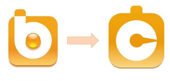 Evolución del logo de la solución Business Intelligence más fácil y rápida