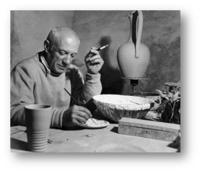 """""""Los ordenadores son inútiles, sólo pueden darnos respuestas"""" (Pablo Picasso)"""
