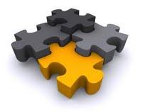 Las diferentes temáticas incluídas en el sistema Business Intelligence deben estar organizadas como un puzzle