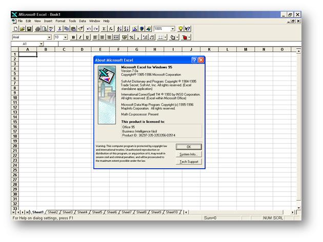 Era la época de Windows 95/98. En esa época empecé a trabajar en temas de Business Intelligence.